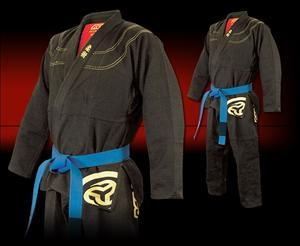 Reevo Aerolight Black Jiu Jitsu Gi with Free Gear Bag